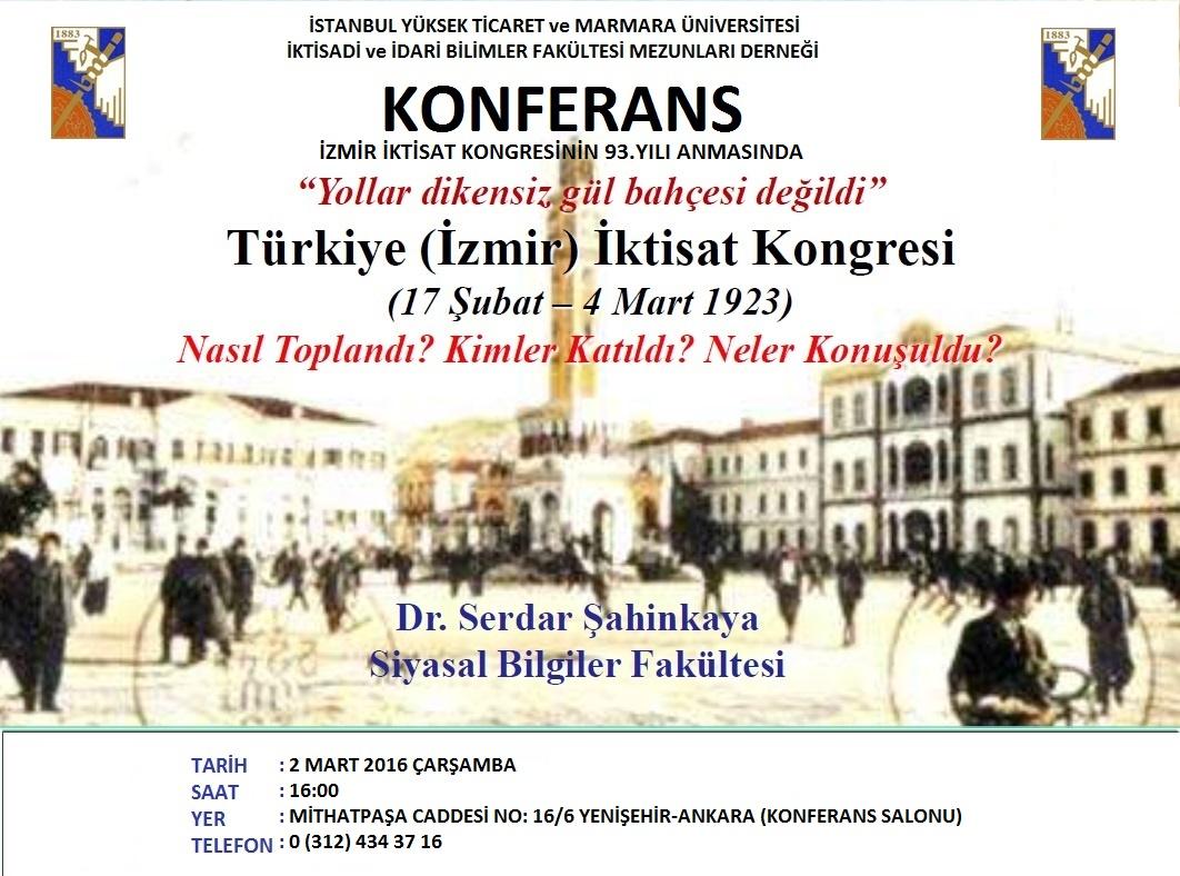 Birinci İzmir İktisat Kongresi - 93 Yaşında (3)
