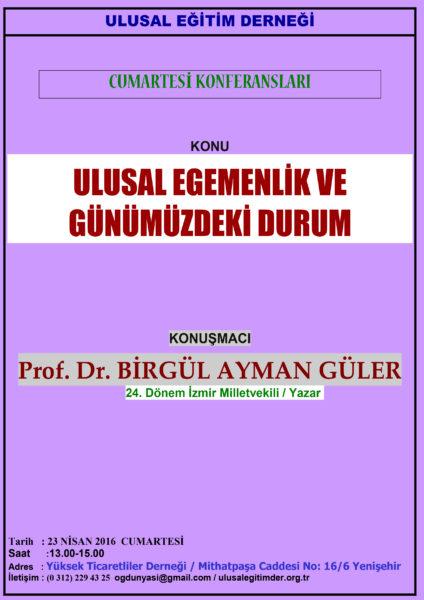 Birgül A. Güler