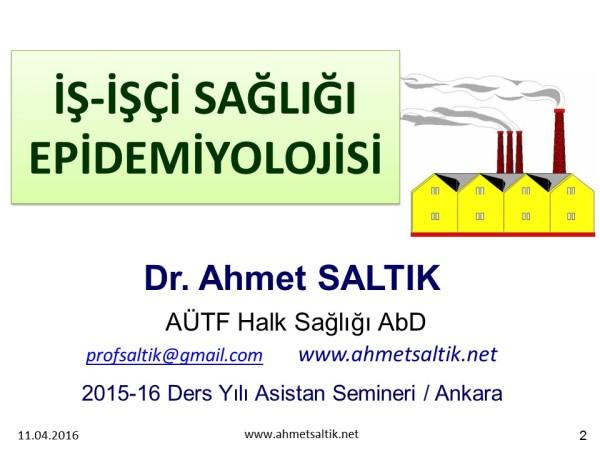 ISG_Epidemiyolojisi_Asistan_Dersi_Ahmet_SALTIK